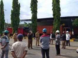 Disnaker Makassar Sosialisasi PSBB