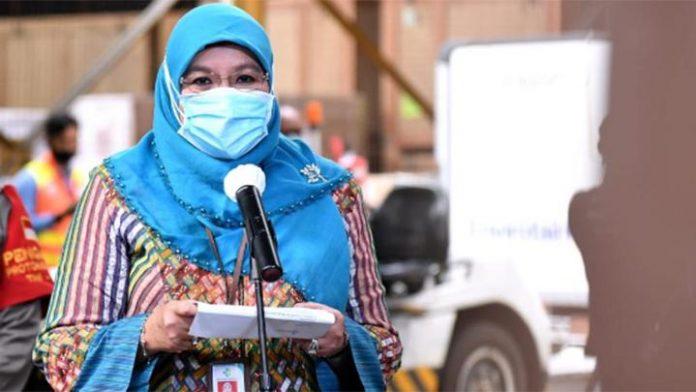 Jubir Kemenkes Siti Nadia Tarmizi